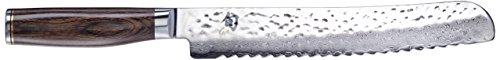 KAI Shun Premier Tim Mälzer Brotmesser, Klinge 23,0 cm, TDM-1705, Mehrfarbig