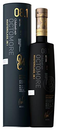 Octomore Bruichladdich Edition 8.1 Masterclass Scottish Barley 169 ppm mit Geschenkverpackung Whisky (1 x 0.7 l)