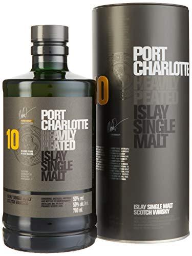 Bruichladdich Port Charlotte Scottish Barley 10 Jahre Single Malt Whisky (1 x 0.7 l)