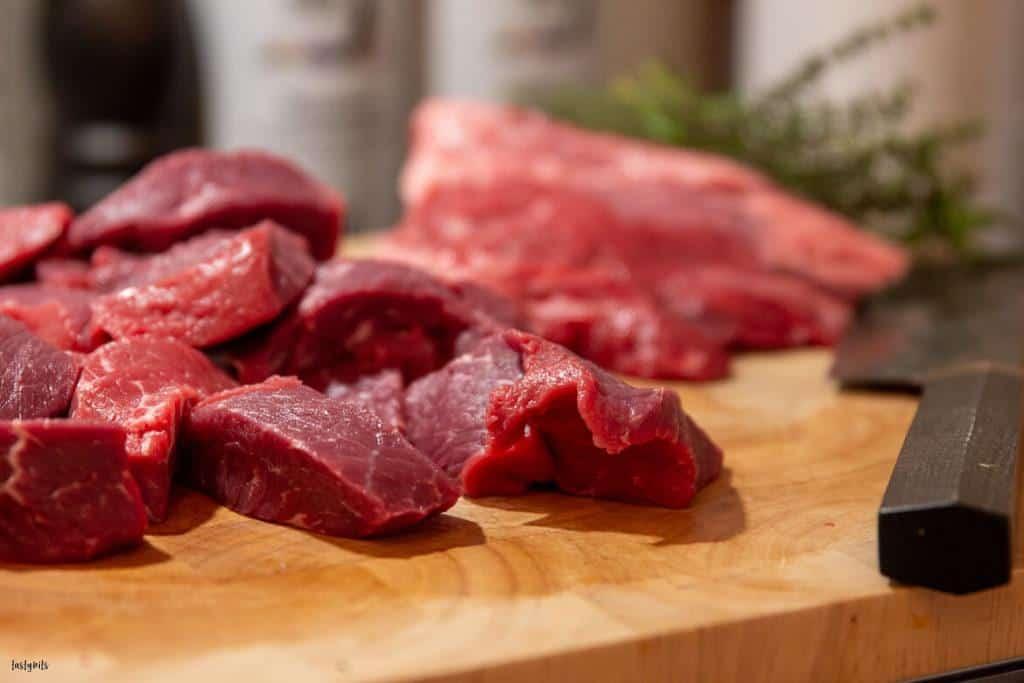 Fleisch für Boeuf bourgoignon