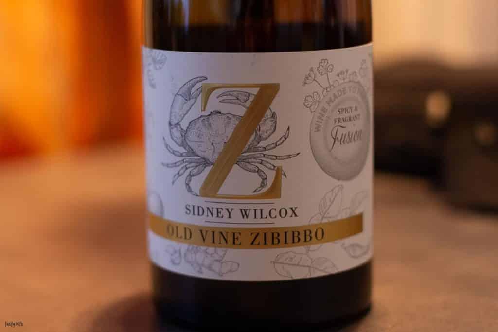 Sidney Wilcox Old Vine Zibibbo