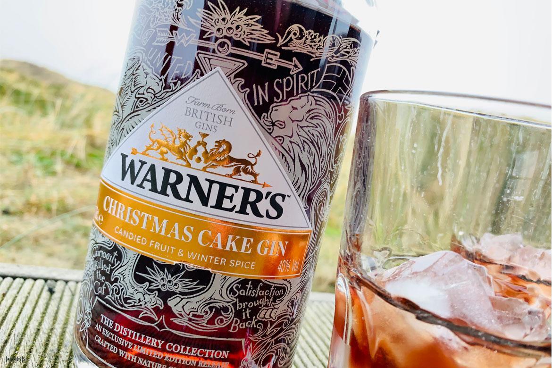 Warner's Christmas Cake Gin 2019