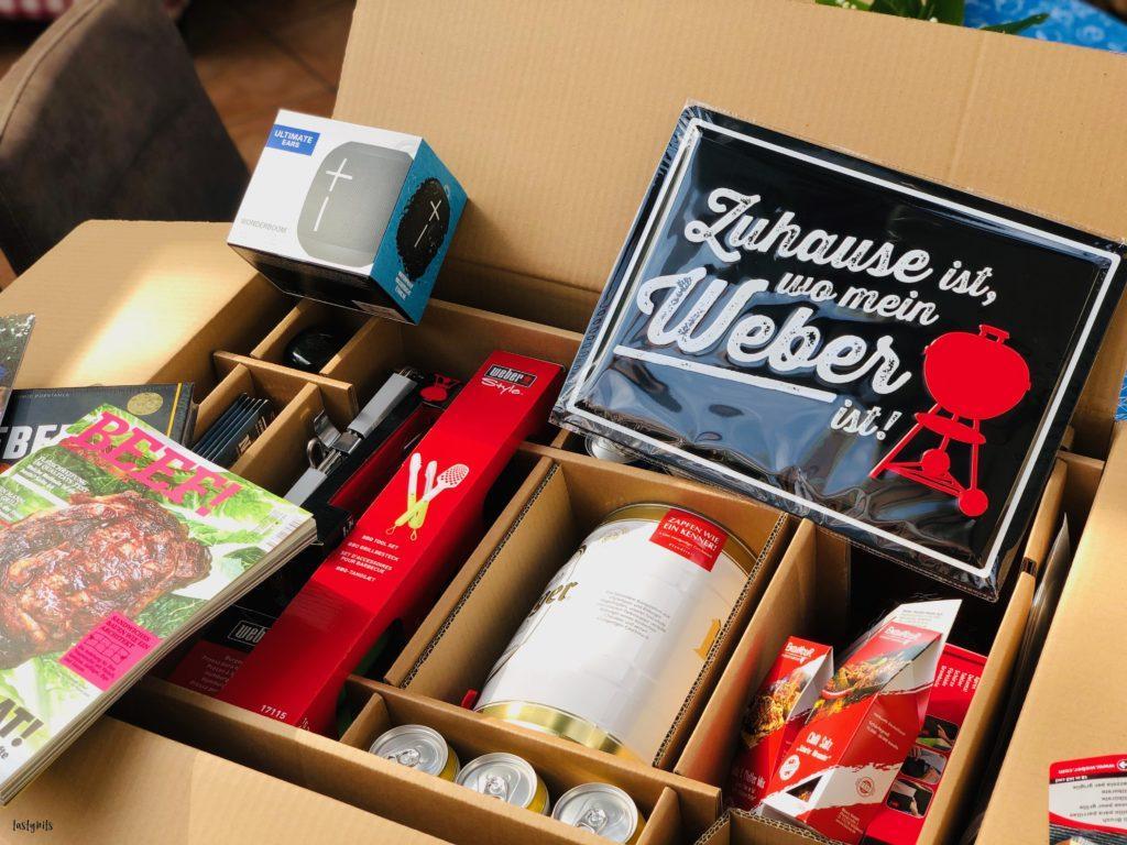 Weber Home Event Box Inhalt - 2