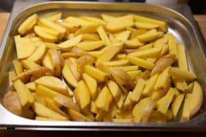 Backofen Pommes selber machen - Schritt 1