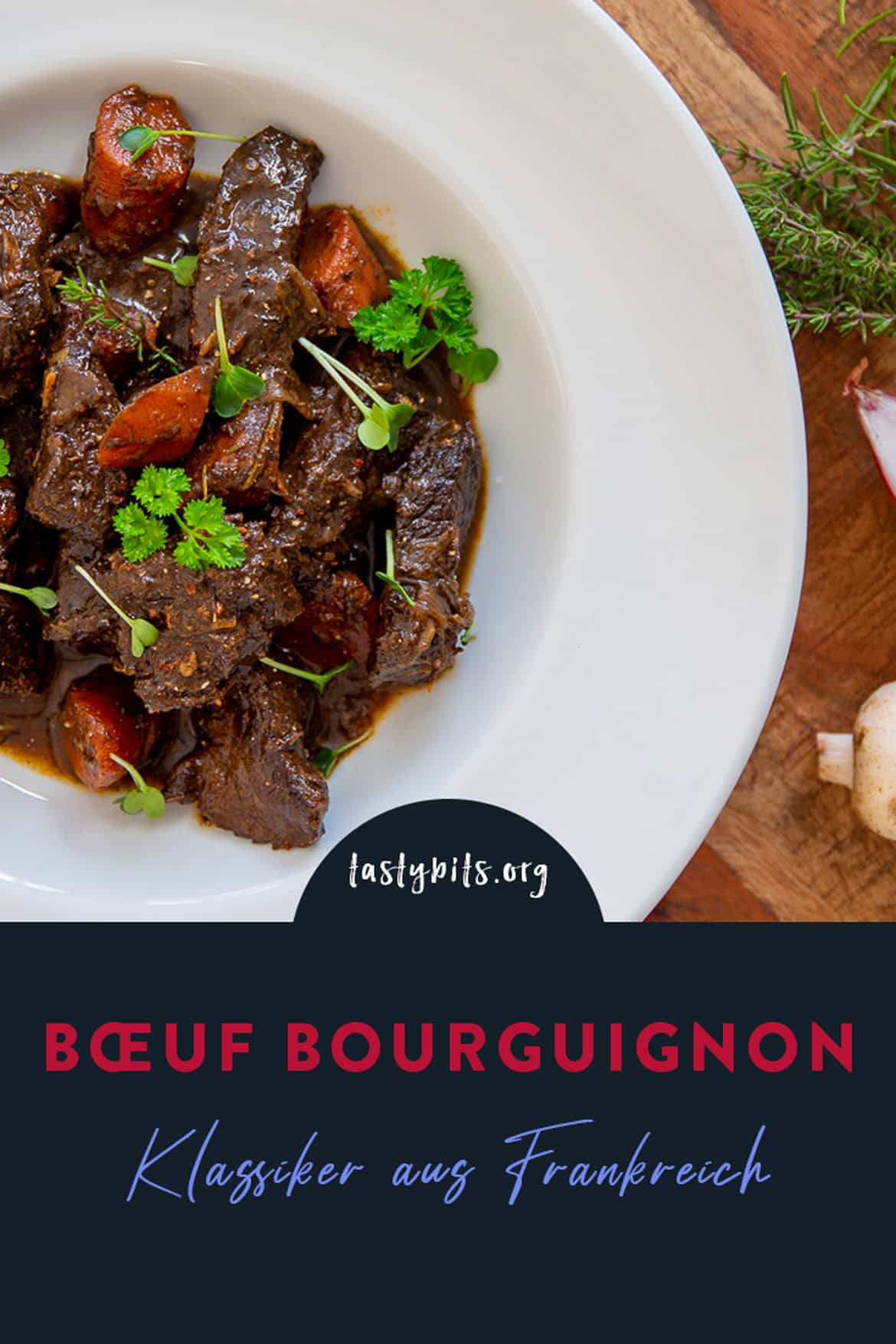 Boeuf bourgoignon - Pinterest