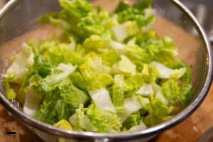 Römersalat für Caesar's Salad