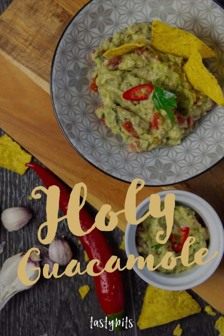 Guacamole Rezept - Pinterest