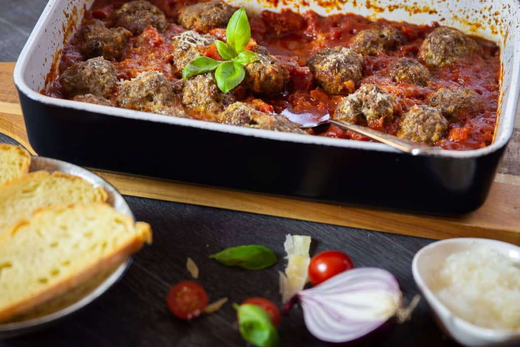 Italo-amerikanische Fleischbällchen