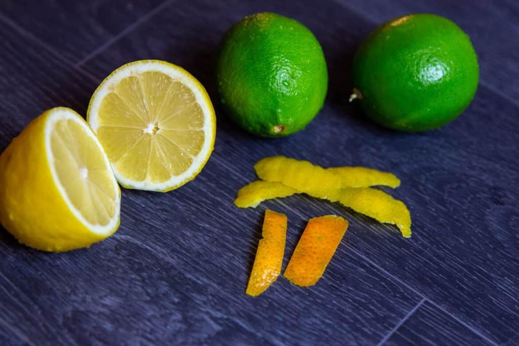Zitronen, Limetten & Orangenzeste
