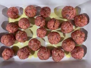 Meatballs formen