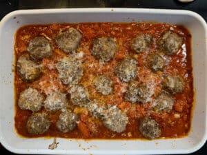 Meatballs zubereiten