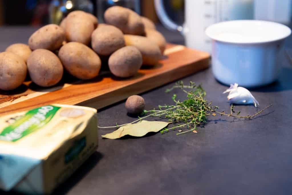 Kartoffelgratin Zutaten