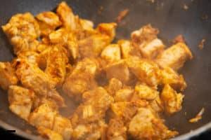 Currypaste für Chicken Curry