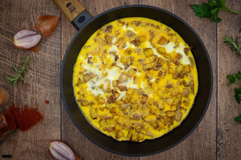Schnelle spanische Kartoffel-Tortilla