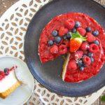 Milchreistorte mit Tortenstück