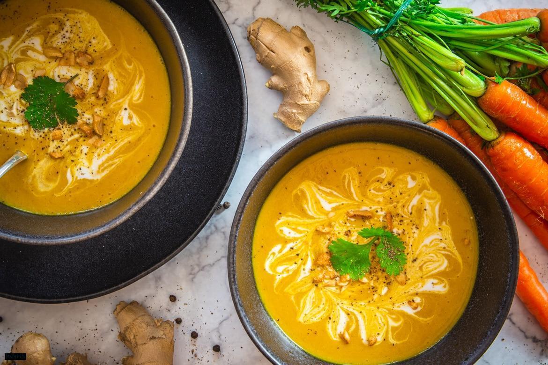 Möhren-Ingwer-Suppe Rezept