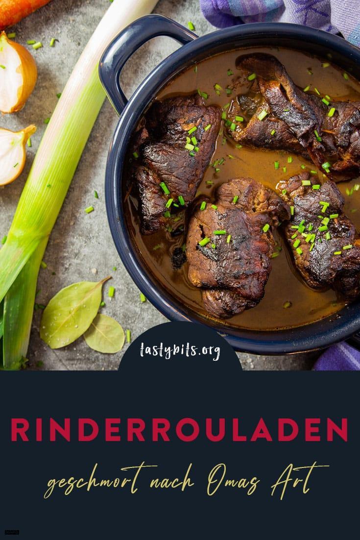 Rinderroulade Rezept - Pinterest