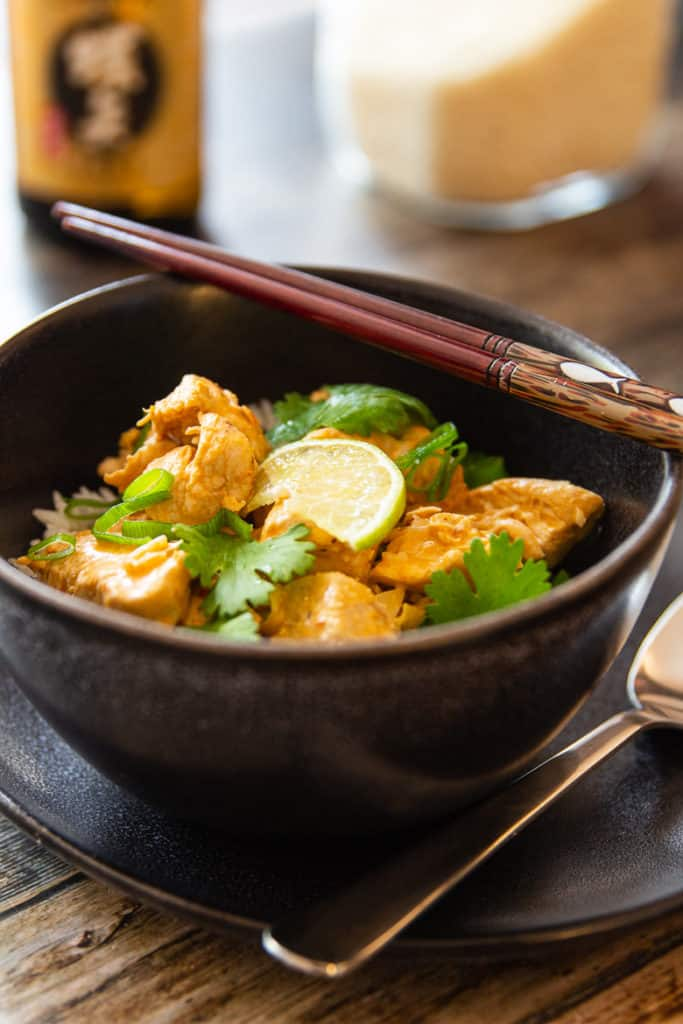 Schnelles Curry mit Hähnchen