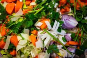 Instant Gemüsebrühe aus frischem Gemüse selber machen