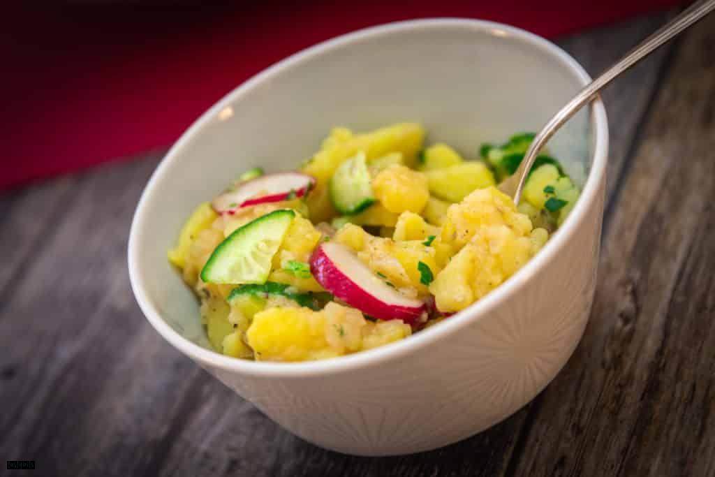 Rezept Kartoffelsalat mit Essig und Öl