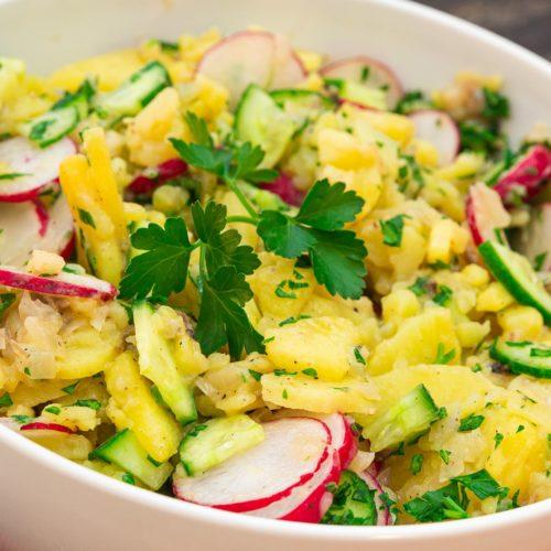 Klassischer Kartoffelsalat Rezept