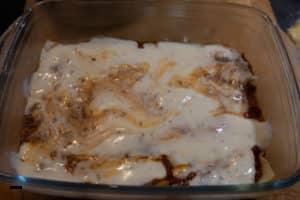 Lasagne schichten - Schritt 2