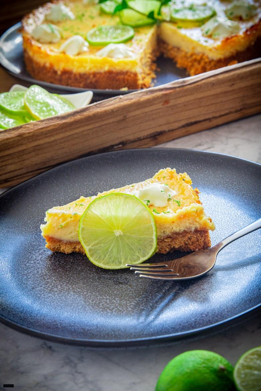 Ein Stück Key Lime Pie