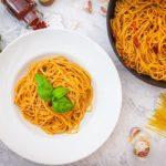 Pasta all'arrabiata - schnelle Tomatensauce
