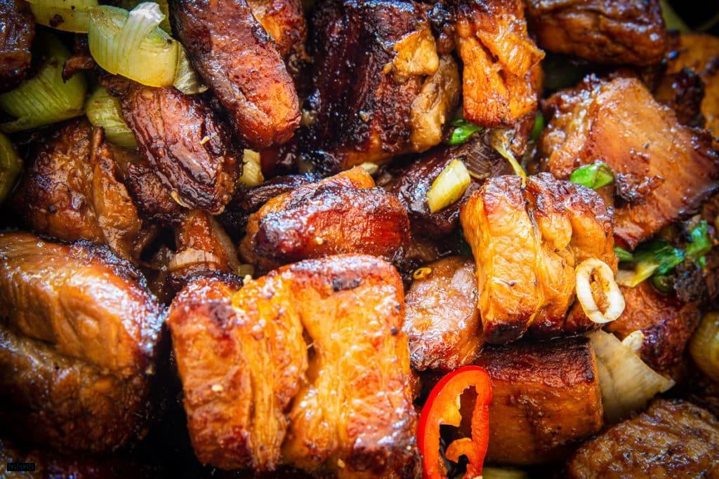 Chinesischer Schweinebauch