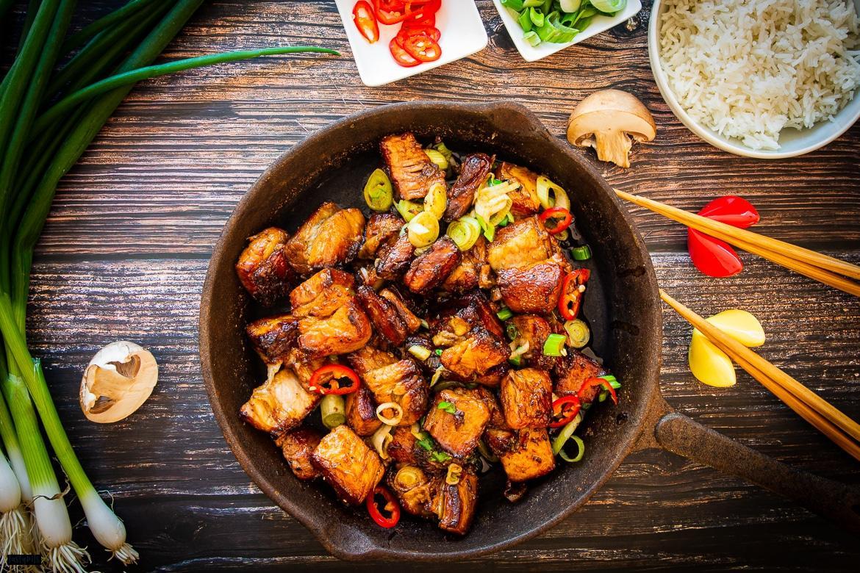 Schweinebauch asiatisch