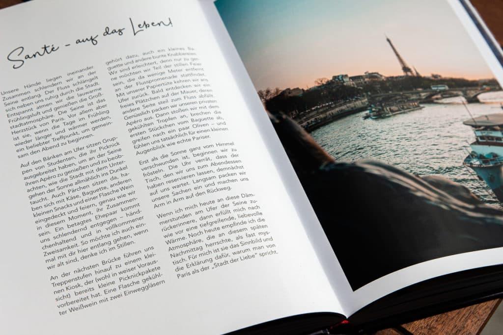 Blick ins Buch: Paris je t'aime