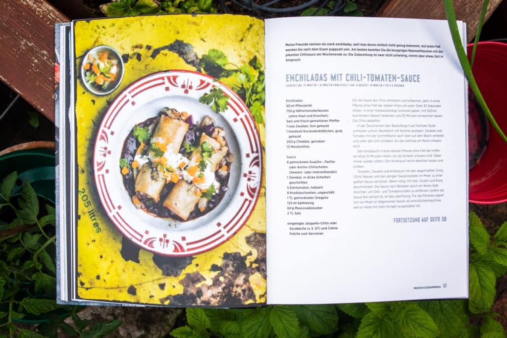 "Das Enchilada Rezept aus ""Streetfood"" von Jennifer Joyce"