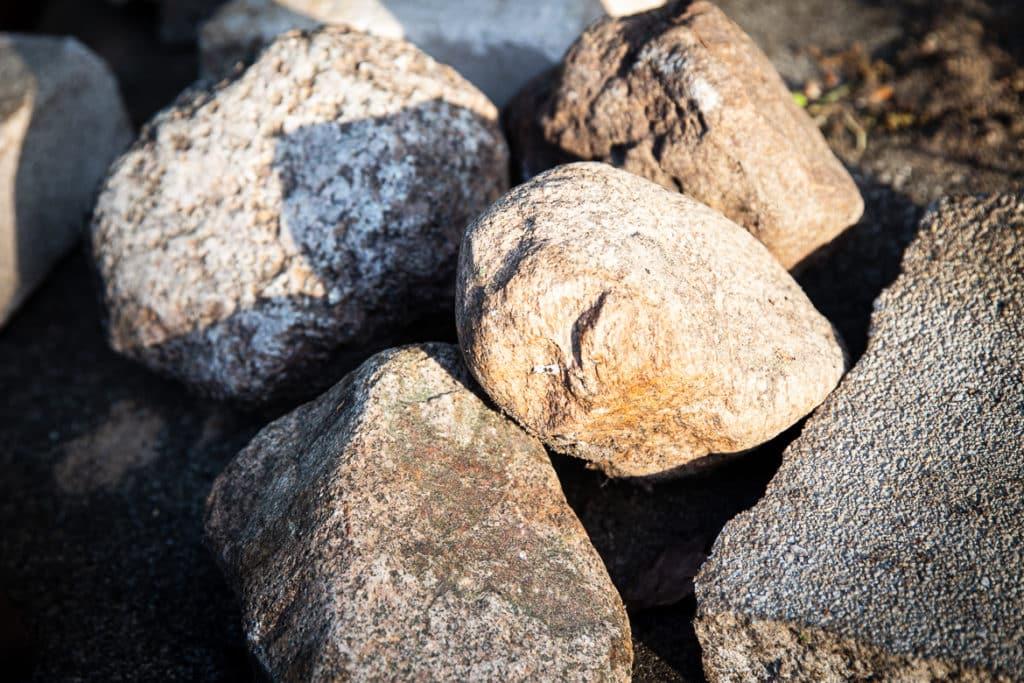 Welche Steine für Erdloch Grill?