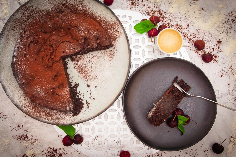 Saftiger Schoko-Kirsch-Kuchen