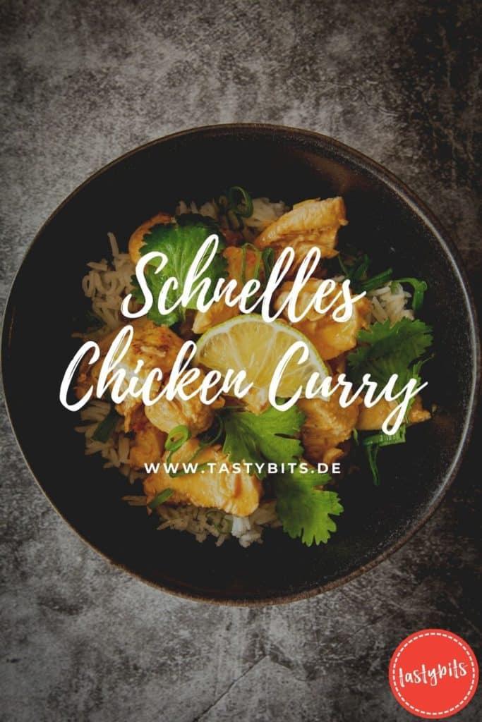 Schnelles Chicken Curry