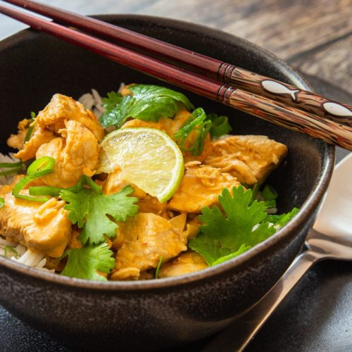 Einfaches Chicken Curry Rezept