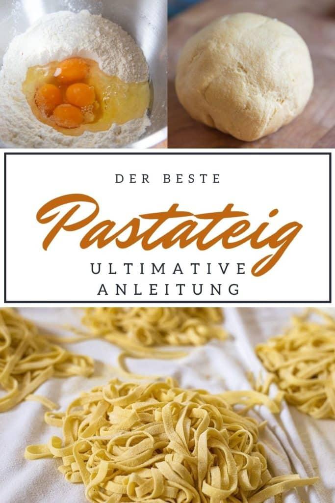 Nudeln selber machen in 5 Schritten - dieser Pastateig gelingt immer!