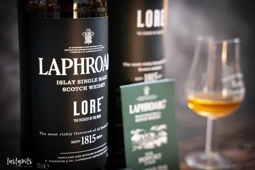 Laphroaig Flasche mit Umverpackung
