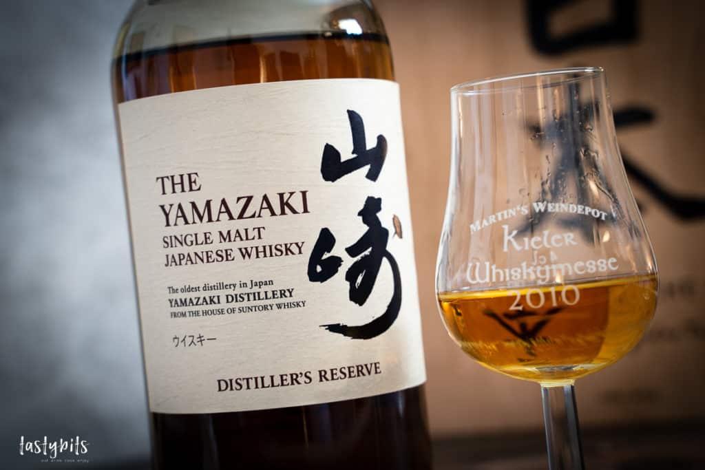 Yamazaki Distiller's Reserve im Glas