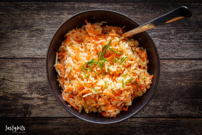 Coleslaw - amerikanischen Krautsalat selber machen