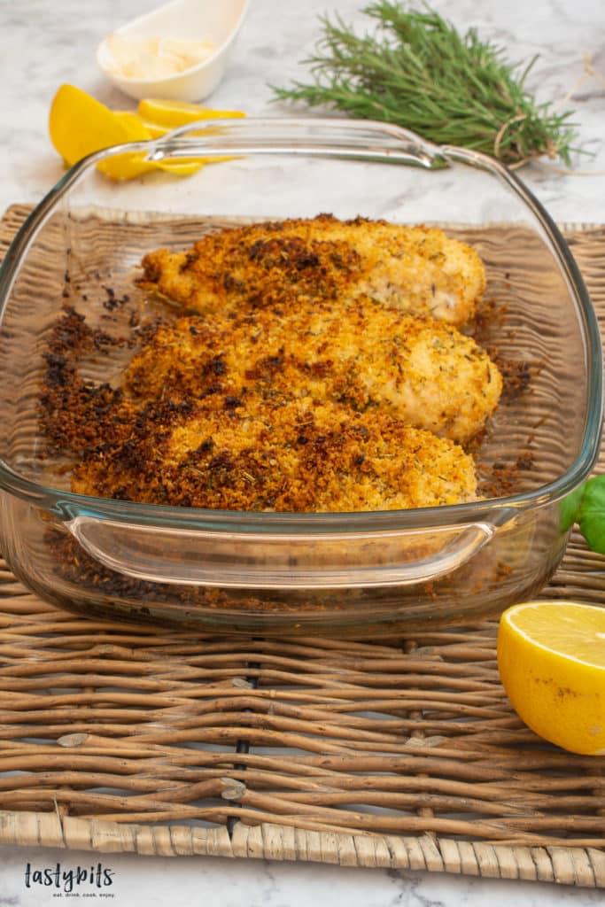 Hühnerbrustfilet mit knuspriger Kruste