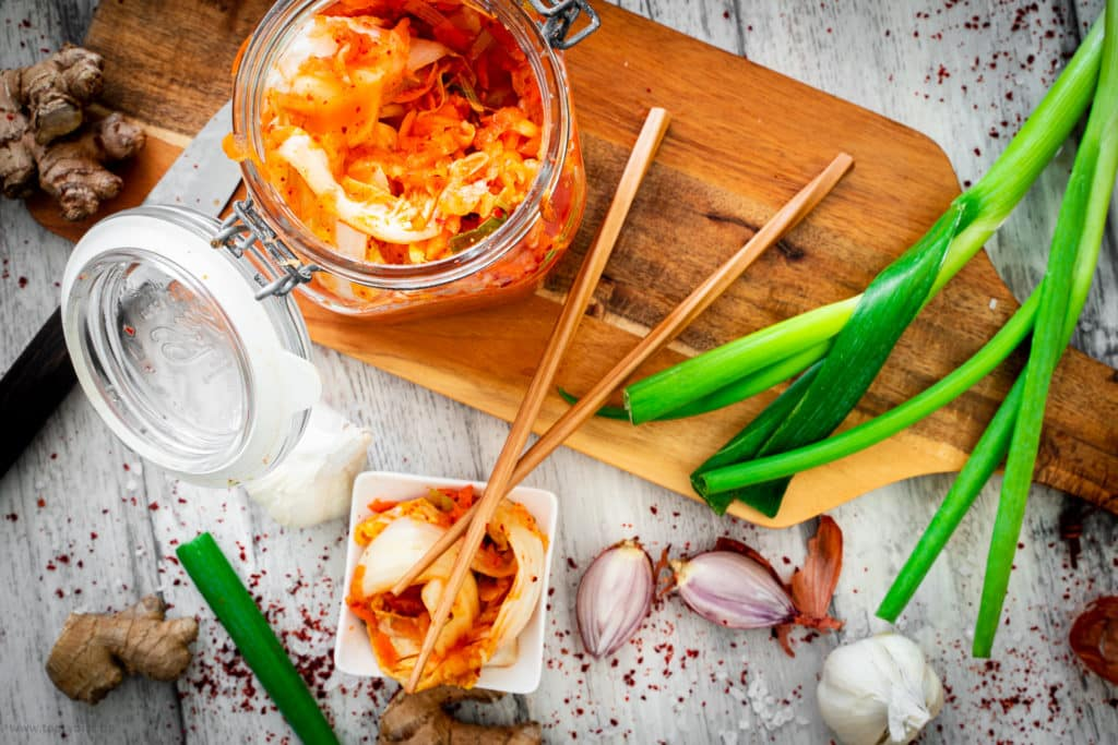 Kimchi - koreanischer Kohlsalat