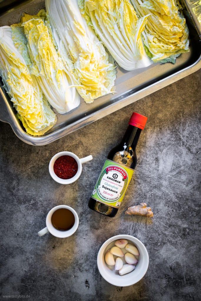 Homemade Kimchi - Zutaten für Marinade