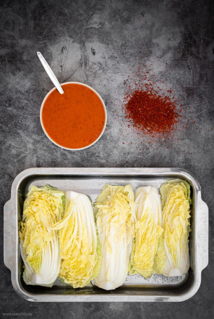 Kimchi Marinade selber machen