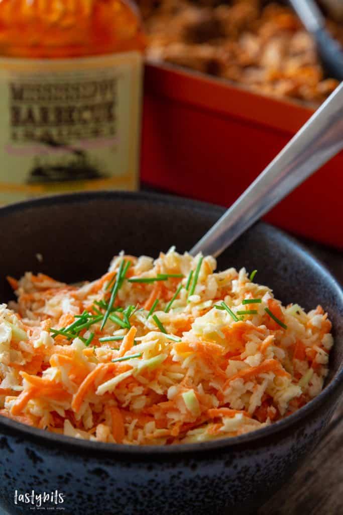 Amerikanischer Krautsalat zu Pulled Pork