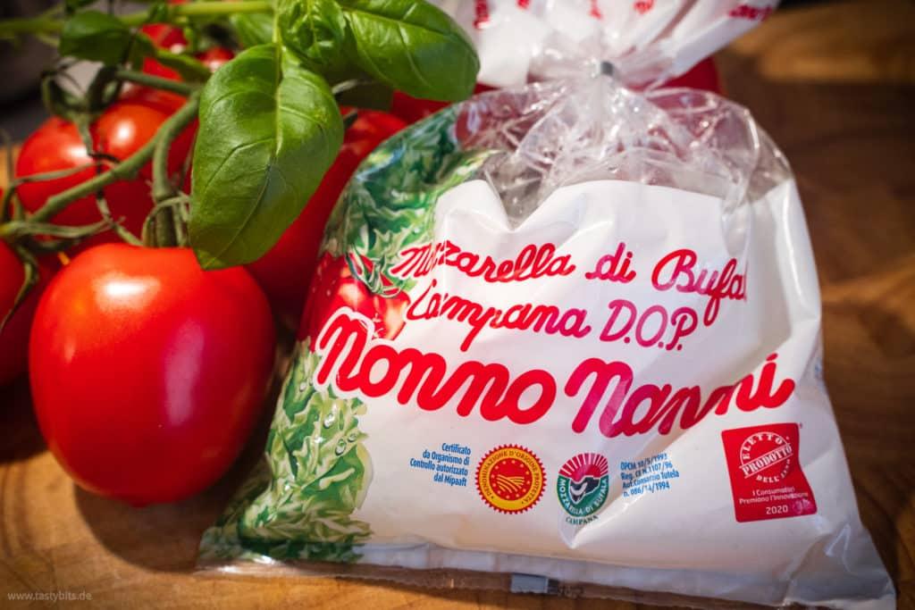 Mozzarella für Caprese