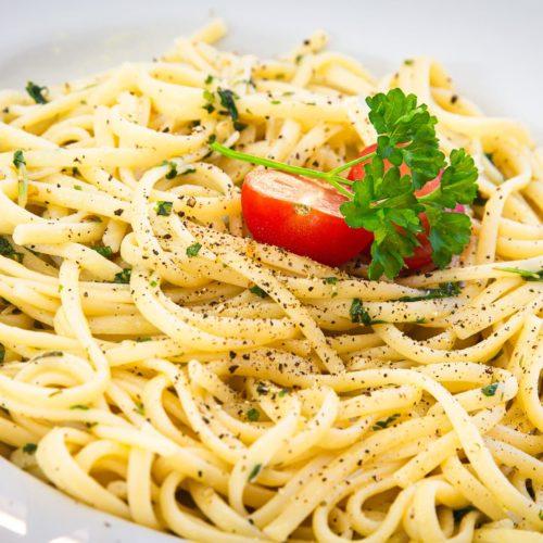 Pasta aglio e olio Rezept