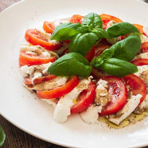 Tomate mit Mozzarella Rezept