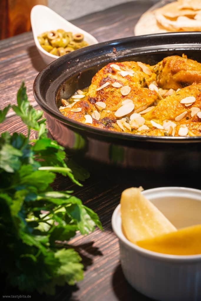 Huhn mit Salzzitrone Rezept