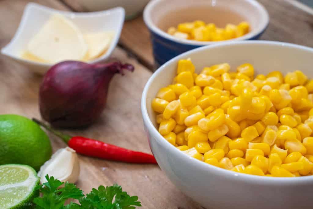 Maissuppe aus Dosenmais